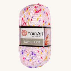 Vlna YarnArt Baby color fialová