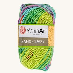 Vlna YarnArt Jeans Crazy 8202
