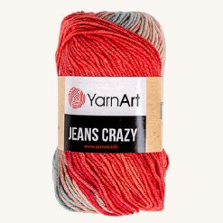 Vlna YarnArt Jeans Crazy 8205