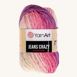 Vlna YarnArt Jeans Crazy 8206