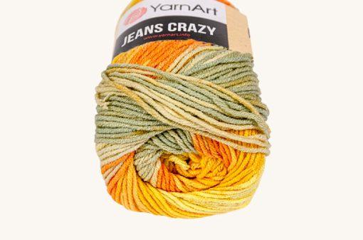 Vlna YarnArt Jeans Crazy 8210