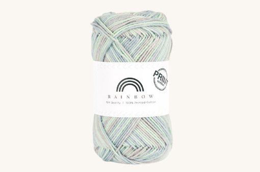 Vlna na háčkovanie Rainbow Cotton Print Alexandra 10