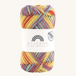 Vlna na háčkovanie Rainbow Cotton Print Anita 04