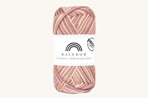 Vlna na háčkovanie Rainbow Cotton Print Anja 49