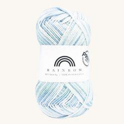 Vlna na háčkovanie Rainbow Cotton Print Anna 13