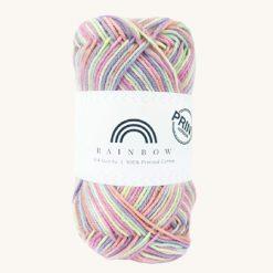Vlna na háčkovanie Rainbow Cotton Print Camilla 16