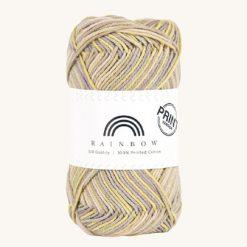 Vlna na háčkovanie Rainbow Cotton Print Eva 19