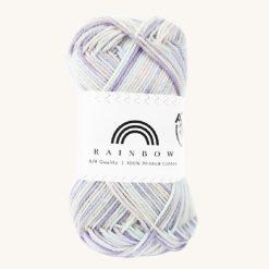 Vlna na háčkovanie Rainbow Cotton Print Kristine 14