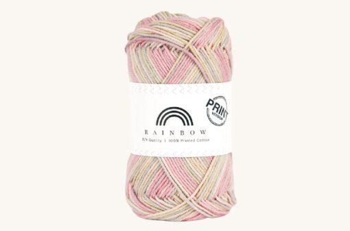 Vlna na háčkovanie Rainbow Cotton Print Saga 18