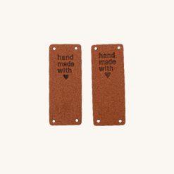 Kožený štítok Handmade variant 18