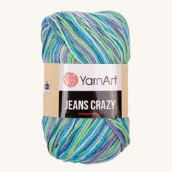Vlna YarnArt Jeans Crazy 7204