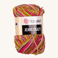 Vlna YarnArt Jeans Crazy 7206
