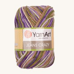 Vlna YarnArt Jeans Crazy 7207