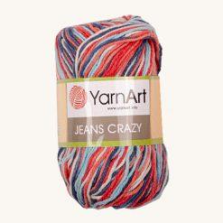 Vlna YarnArt Jeans Crazy 7208