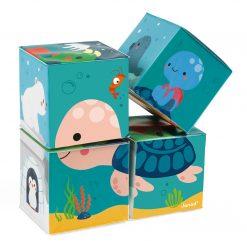 Mäkké obrázkové kocky pre najmenších