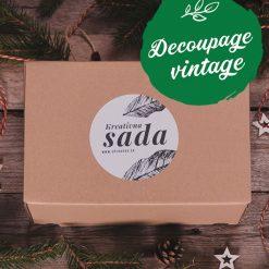 Štartovací balíček sada na Decoupage vintage