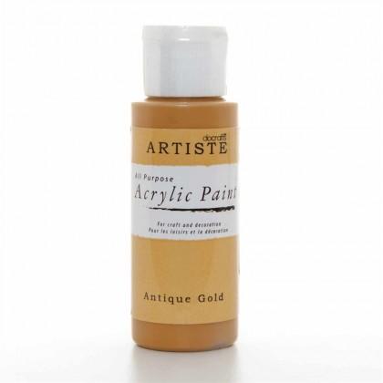 Akrylová farba Antique Gold zlatá