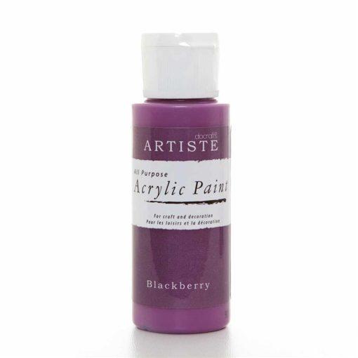 akrylova farba blackberry