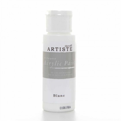 Akrylová farba Blanc