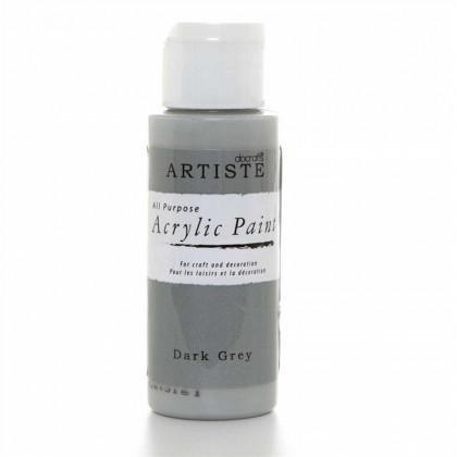 Akrylová farba Dark Grey
