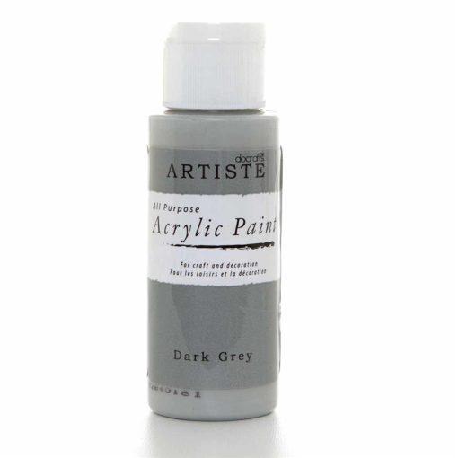 akrylova farba dark grey