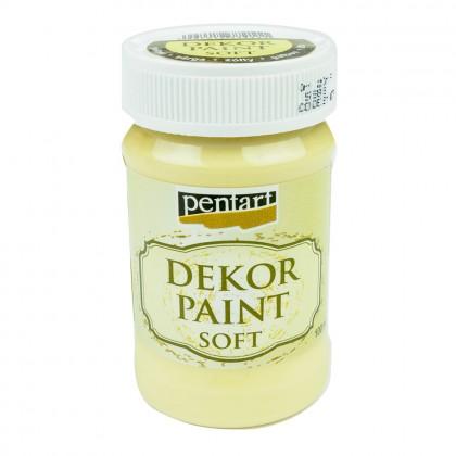 Akrylová farba Decor Paint žltá