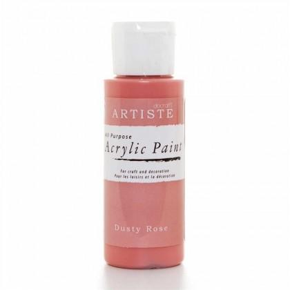 Akrylová farba Dusty Rose