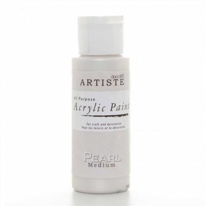 Akrylová farba Pearl Medium