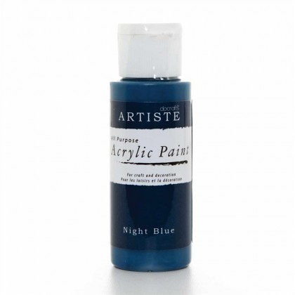 Akrylová farba Night Blue