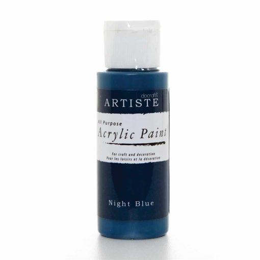 akrylova farba night blue