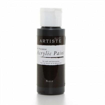 Akrylová farba Noir
