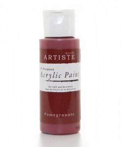 Akrylová farba Pomegranate