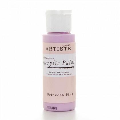 Akrylová farba Princess Pink