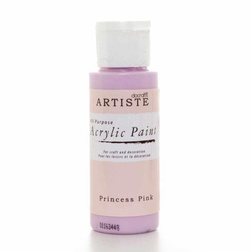 akrylova farba princess pink