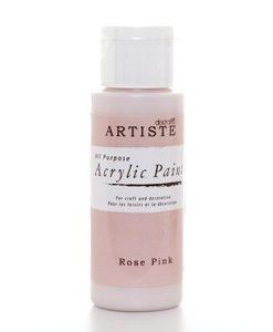 Akrylová farba Rose Pink