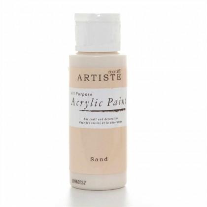 Akrylová farba Sand