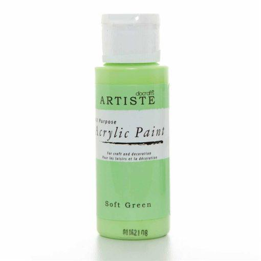 akrylova farba soft green