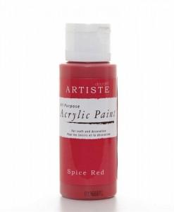 Akrylová farba Spice Red