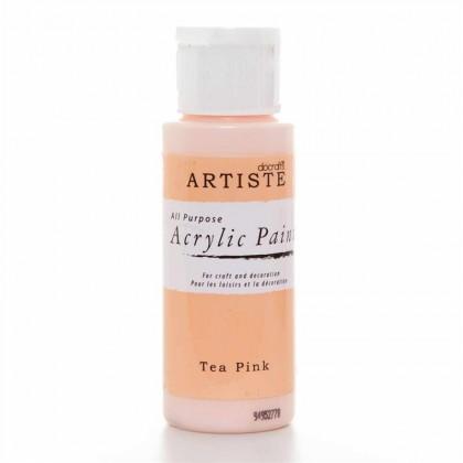 Akrylová farba Tea Pink