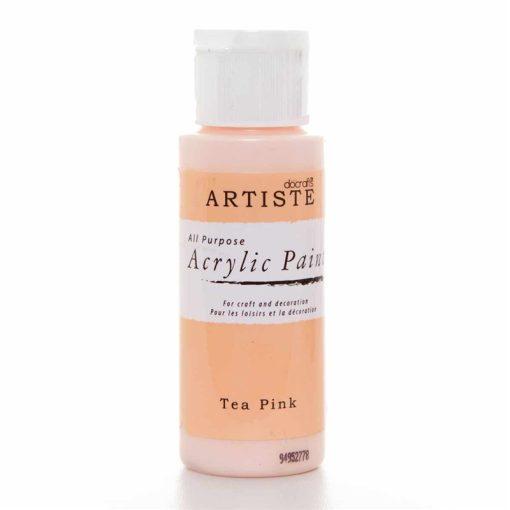 akrylova farba tea pink
