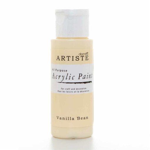 akrylova farba vanilla bean