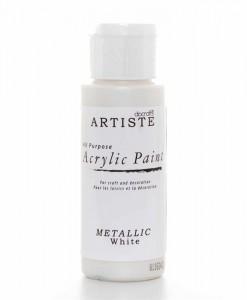 Akrylová farba White
