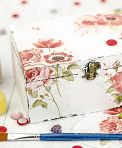 Kreatívny kurz Decoupage vintage style