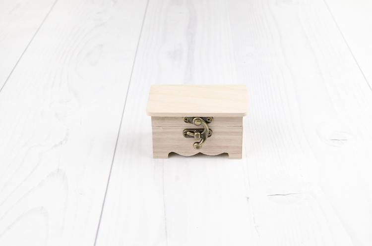 Drevená krabička Angel malá