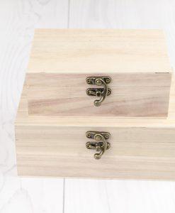 Drevená krabička Varieté sada 2 ks