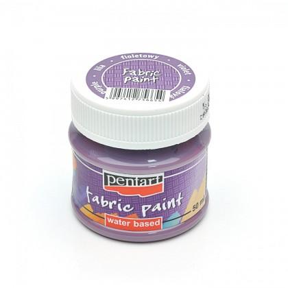 Farba na textil fialová 50 ml