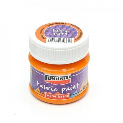 Farba na textil oranžová 50 ml