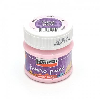 Farba na textil ružová 50 ml