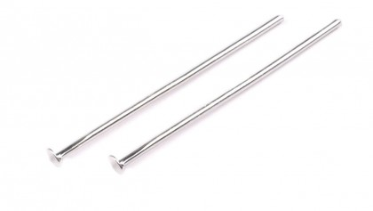 Ketlovacie nity 30 mm strieborné 10 ks