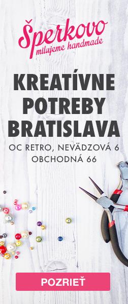 Kreatívne potreby a kurzy Šperkovo Bratislava